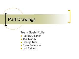 Part Drawings