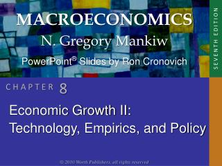 Economic Growth II: Technology, Empirics, and Policy