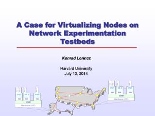 A Case for Virtualizing Nodes on Network Experimentation Testbeds