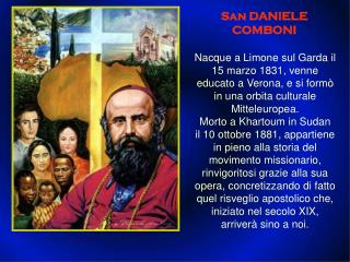 San DANIELE COMBONI