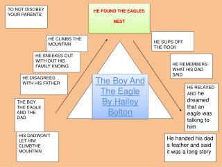 The Boy And The  Eagle By Hailey Bolton