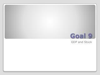Goal 9
