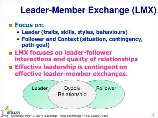 Leader-Member Exchange (LMX)