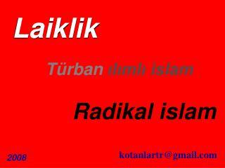 Türban ılımlı islam