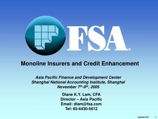 Monoline Insurers and Credit Enhancement