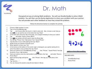 Dr. Math