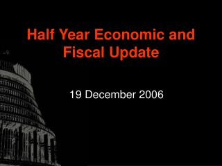 Half Year Economic and Fiscal Update