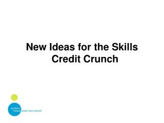 New Ideas for the Skills Credit Crunch