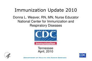 Immunization Update 2010