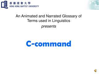 C-command