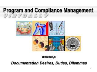 Program and Compliance Management