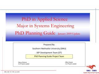 PhD in Applied Science