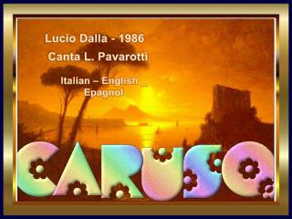 Lucio Dalla - 1986