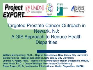 Targeted Prostate Cancer Outreach in Newark, NJ: A GIS Approach to Reduce Health Disparities