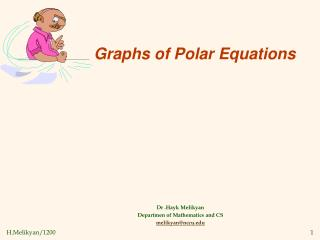 Graphs of Polar Equations