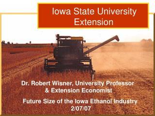 Dr. Robert Wisner: Grain Outlook  3/15/06