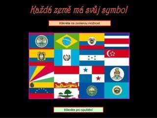 Každá země má svůj symbol