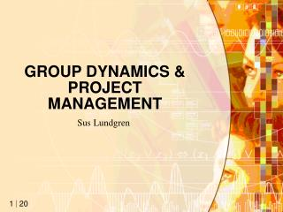 GROUP DYNAMICS & PROJECT MANAGEMENT