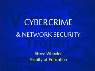 CYBERCRIME  NETWORK SECURITY