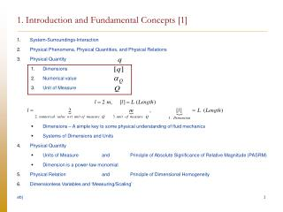 1. Introduction and Fundamental Concepts [1]