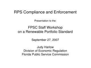 RPS Compliance