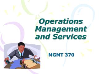 Operations Management and Services
