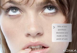 70% of the purchase decisions are made at the point of sale