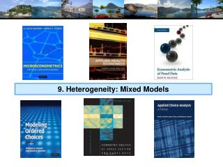9. Heterogeneity: Mixed Models