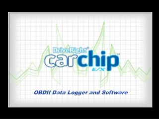 OBDII Data Logger and Software