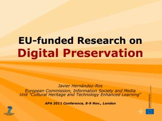 EU-funded Research on Digital Preservation