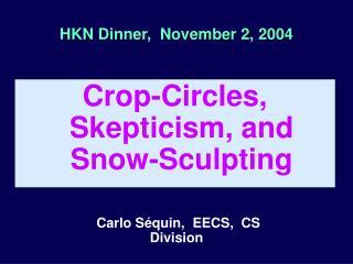 HKN Dinner,  November 2, 2004