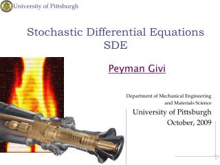 Stochastic Differential Equations SDE