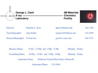 George L. Clark                                            3M Materials X-ray