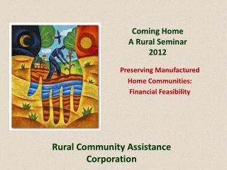 Coming Home A Rural Seminar 2012