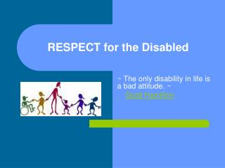 RESPECT for the Disabled