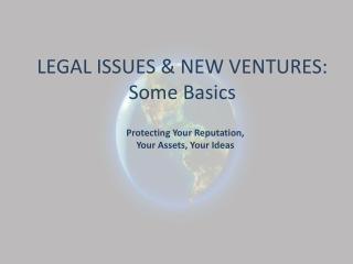 Legally protecting your reputation