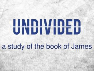 a study of the book of James