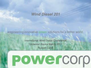 Wind Diesel 201