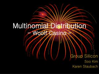 Multinomial Distribution - Woolf Casino -