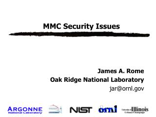 MMC Security Issues