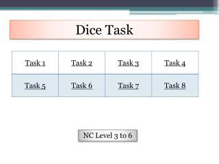 Dice Task