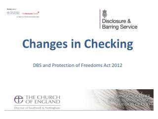 Changes in Checking DBS and Protection of Freedoms Act 2012