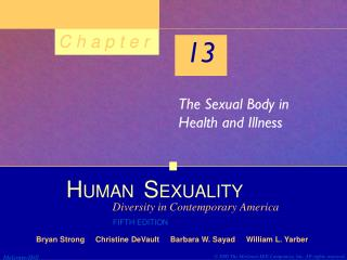 The Sexual Body in Health and Illness