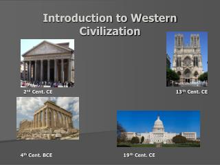 Introduction to Western Civilization