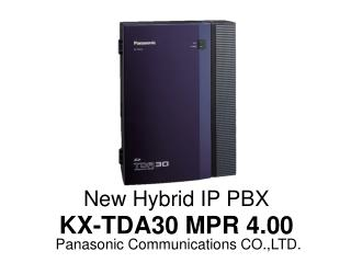 Panasonic Communications CO.,LTD.
