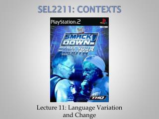 S EL2211: Contexts