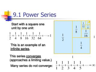 9.1 Power Series