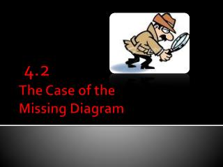 The Case of the  Missing Diagram