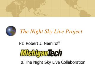 The Night Sky Live Project