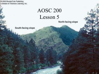 AOSC 200 Lesson 5